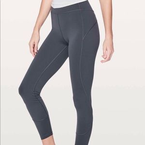 Lululemon In Movement Tight 7/8 length
